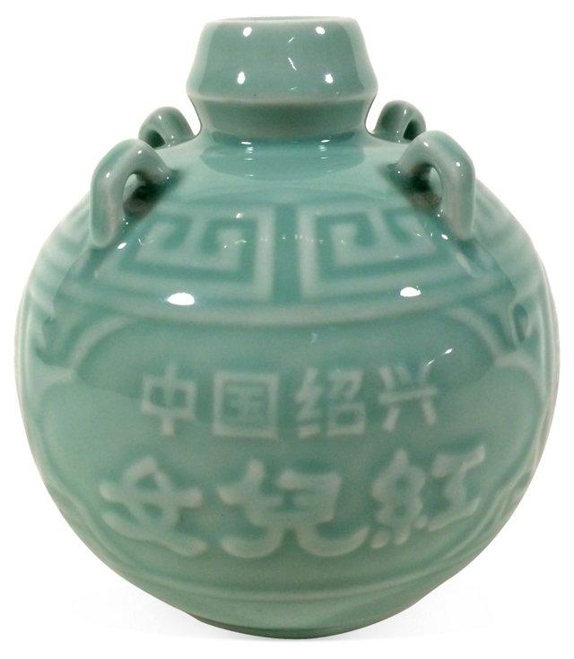 Celadon Ceramic Chinese Vase