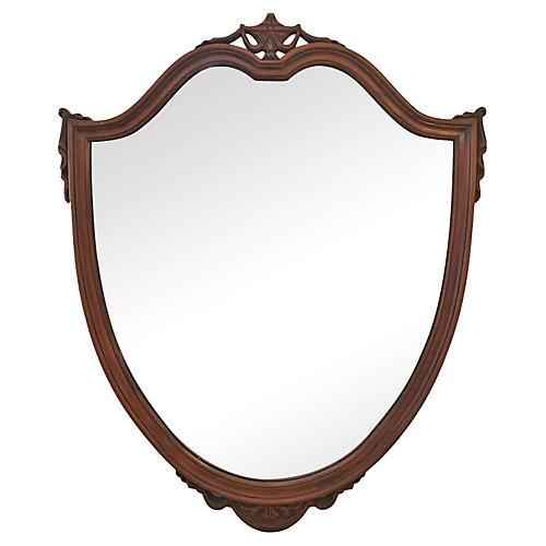 Shield-Motif Mirror