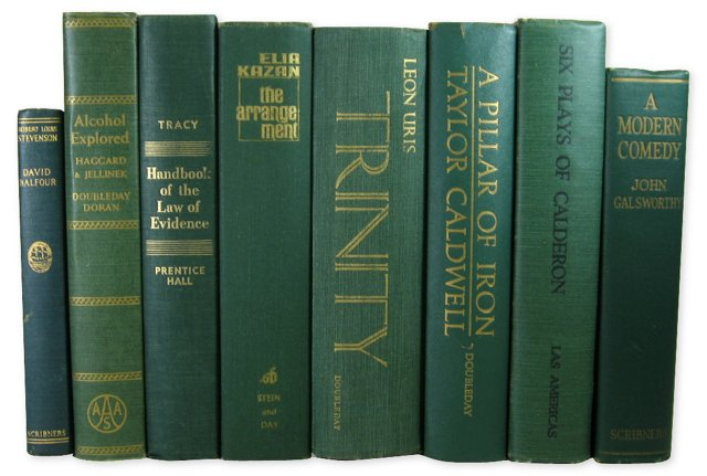 Green Book Set, S/8