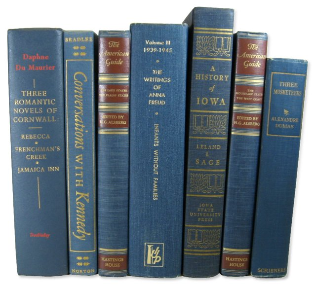 Decorative Book Collection, S/7