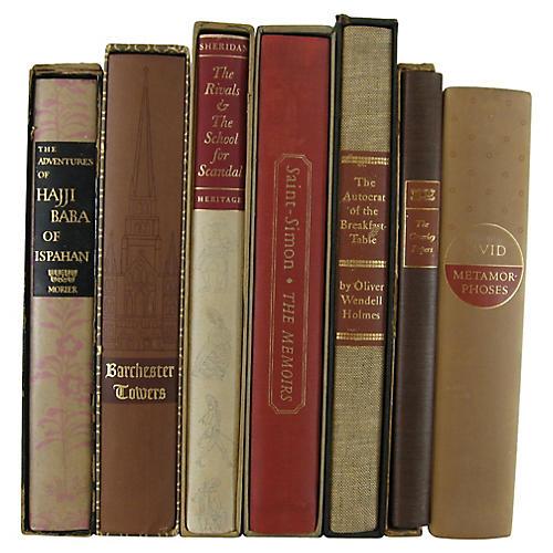 Classic Heritage Press Books, S/7