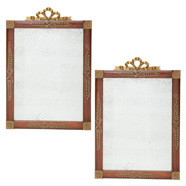 18th-C. Italian Mirrors, Pair