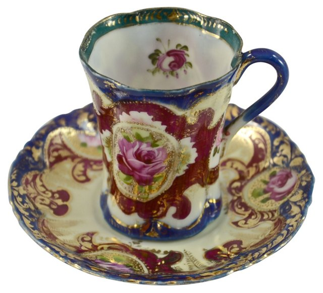 Rose Bone China Teacup