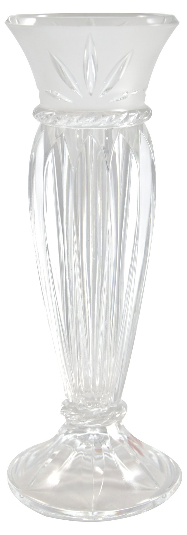 Cut-Crystal Vase