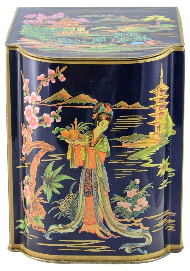 Chinoiserie Tea Tin