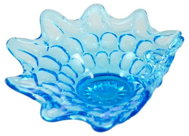 Aquamarine  Folded Bowl