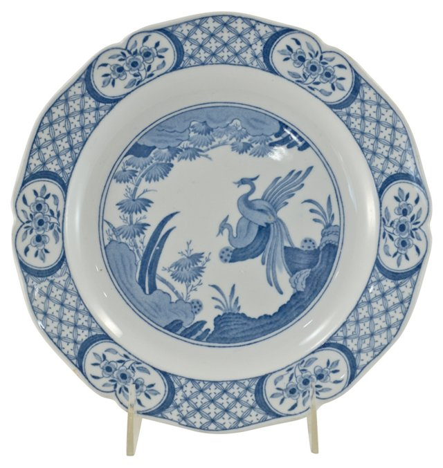 Antique English Phoenix Plate