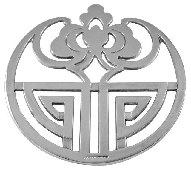 Silverplate Trivet