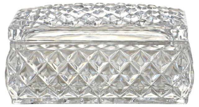 Diamond Hobnail Vanity Box