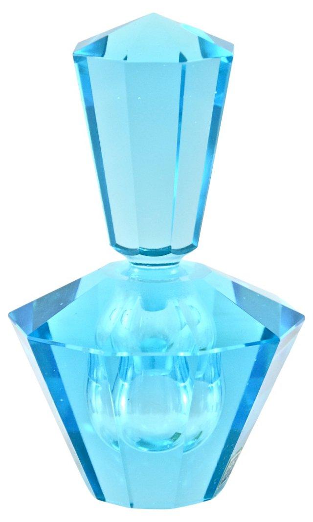 Aqua Cut-Crystal Perfume Bottle
