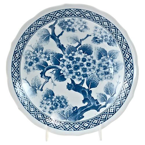 Blue & White Cherry Blossom Bowl