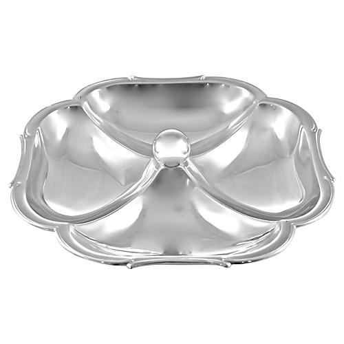 Silver Divided Tray