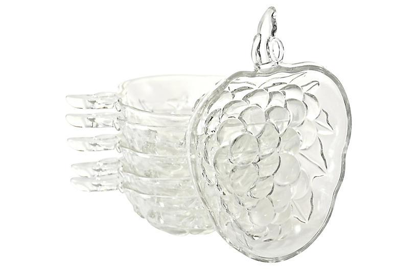Grape Cluster Bowls, S/6