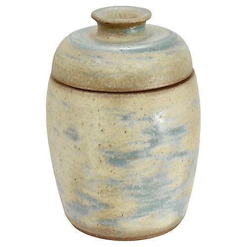 Midcentury David White Art Pottery Jar