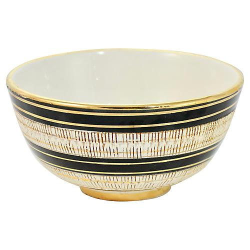 Aldo Londi Bitossi Banded Bowl