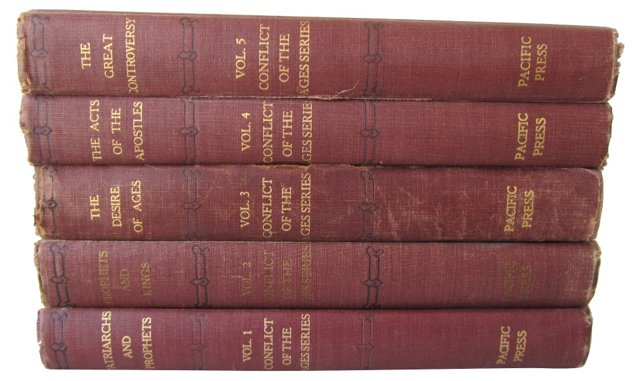 The Conflict of the Ages Series, 5 Vols