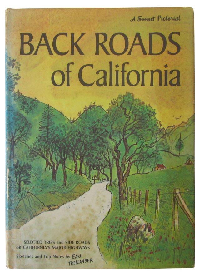 Back Roads of California, 1st Ed