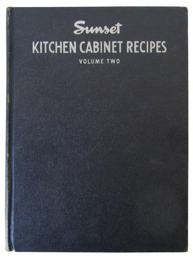 Sunset Kitchen Cabinet Recipes