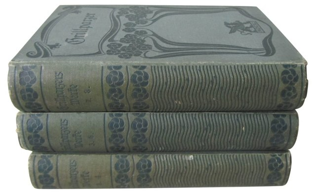 German Decorative Books, S/3