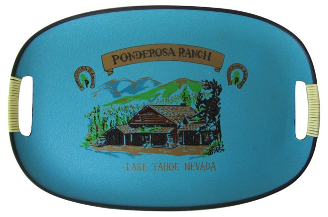 Ponderosa Ranch Souvenir Tray