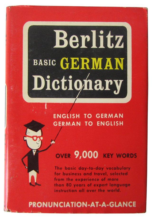 Berlitz Basic German Dictionary