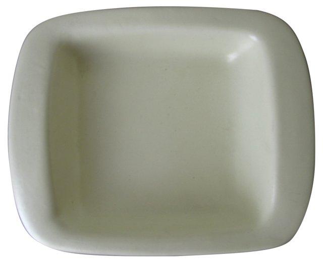 Haeger Off-White Ceramic Catchall