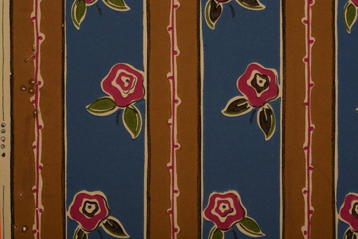 1920s Art Deco  Wallpaper Sample