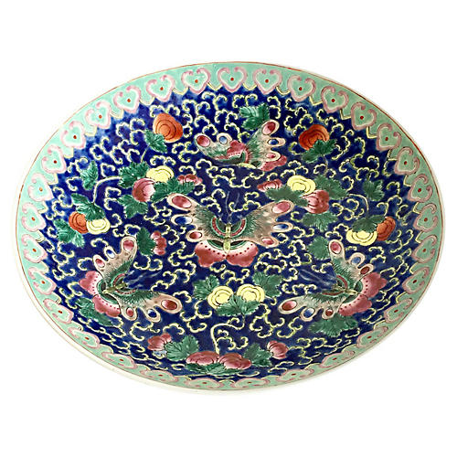 Chinese Porcelain Butterfly Bowl