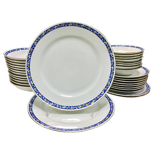 Japanese Porcelain Dinnerware, 32 Pcs