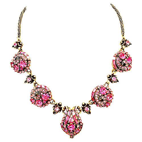 Crystal Hollycraft Necklace