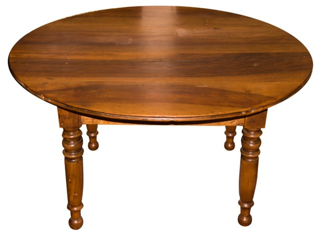 Round French Coffee Table