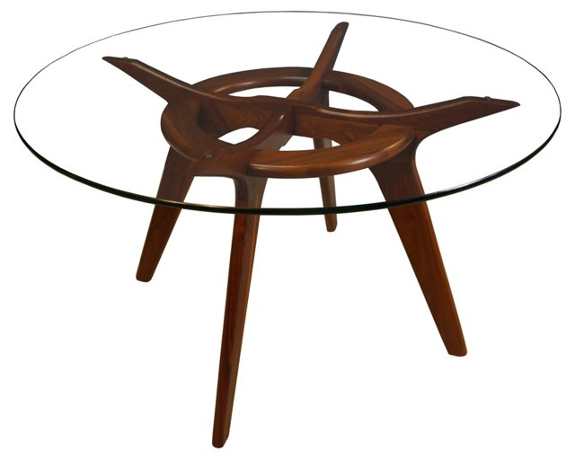 Walnut Dining Table by Adrian Pearsall