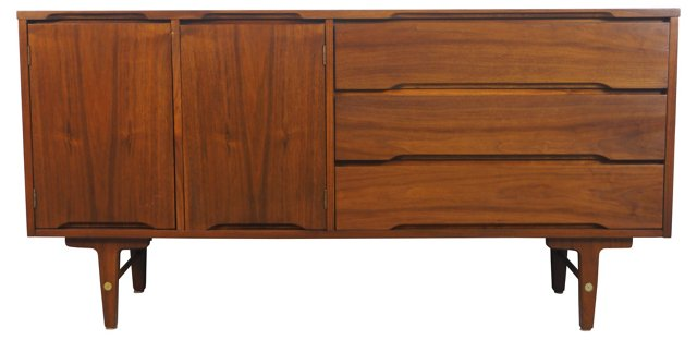 Walnut Dresser by Stanley