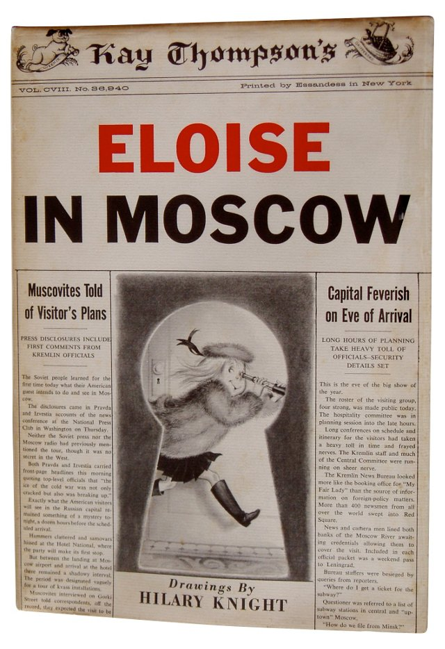 Eloise in Moscow,  US 1st