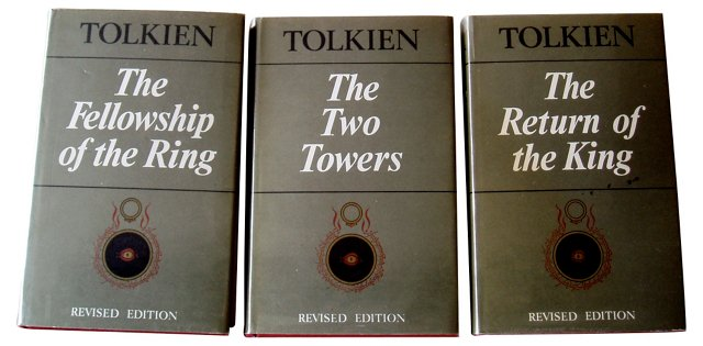 Lord of The Rings Trilogy, UK Ed, S/3