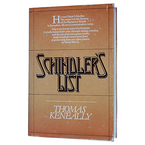 Schindler's List, First Printing