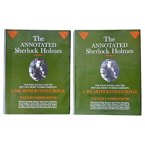 The Annotated Sherlock Holmes, 2 Vols