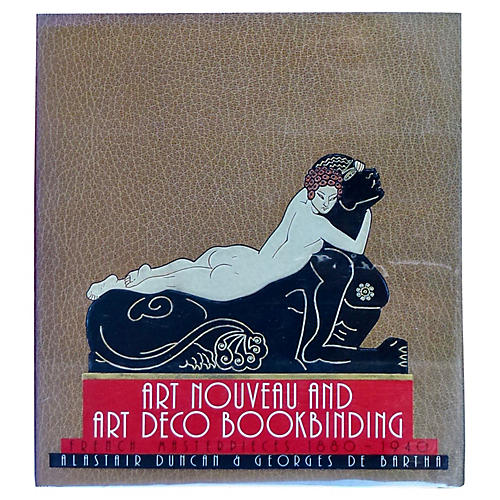 Art Nouveau & Art Deco Book Binding
