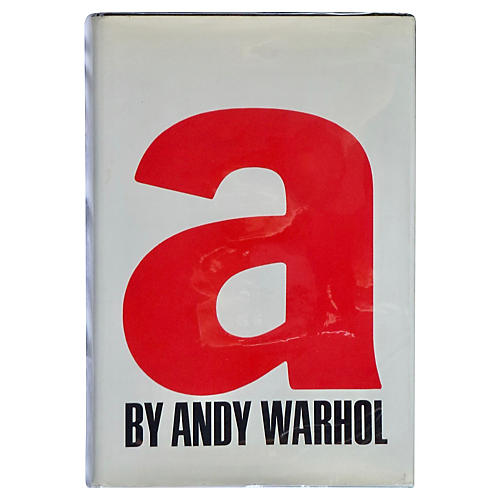Andy Warhol's 'a', 1st Printing