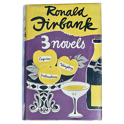 3 Novels by Ronald Firbank