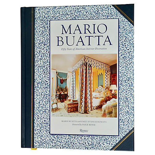 Mario Buatta, Interior Decorator