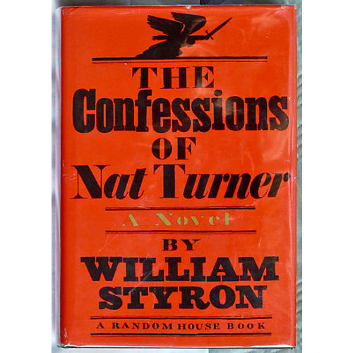 Confessions of Nat Turner, 1st Printing