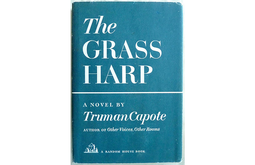 Capote's The Grass Harp, 1st Printing
