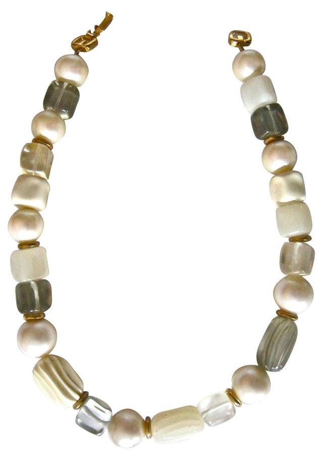 1980s Givenchy Modernist Necklace