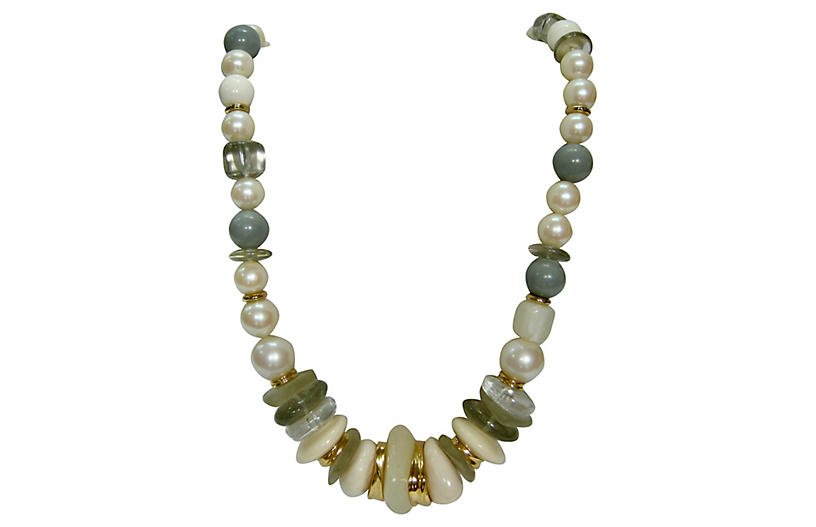 Givenchy Modernist Multi-Bead Necklace