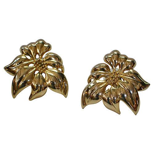 Givenchy Poinsettia Earrings