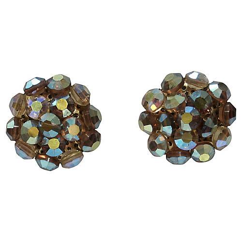 Juliana Aurora Borealis Crystal Earrings