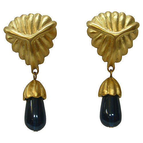 Givenchy Oversize Drop Earrings