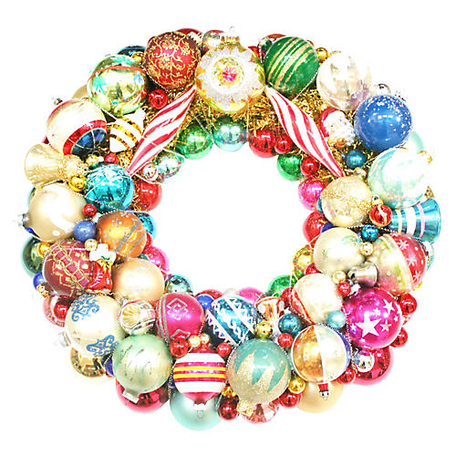 Large Indent Ornament Wreath