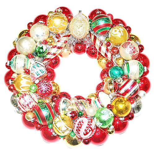Victorian Ornament Wreath